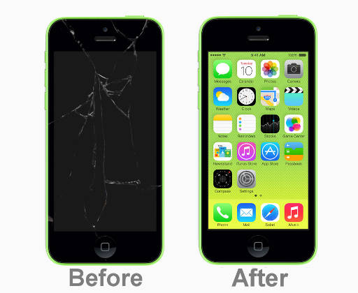 iphone 5c screen popped out laloadzone 9231