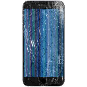 iPhone Broken LCD